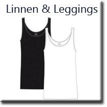 linnen och leggings